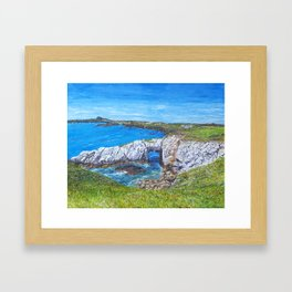 Gromllech Rock Arch Framed Art Print