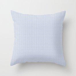 Blue Heroin Throw Pillow