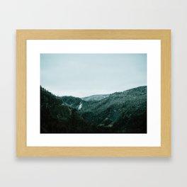 Humber Valley Framed Art Print