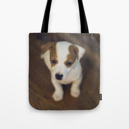 Little puppy dog Tote Bag
