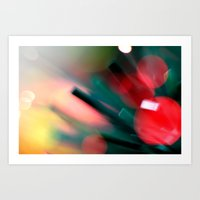 christmas tree Art Prints featuring Christmas tree by Eugenie