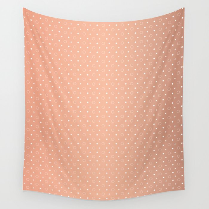 Art Deco Pattern 1 [ROSE GOLD] Wall Tapestry