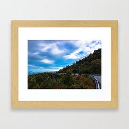 Blue Ridge Parkway Viaduct Framed Art Print