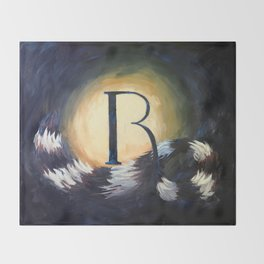 R is For... Throw Blanket