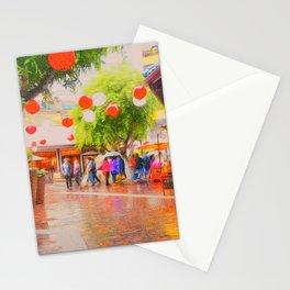 Little Tokyo Japanese Village Rainy Day Stationery Cards