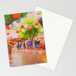 Little Tokyo Japanese Village Rainy Day Stationery Cards