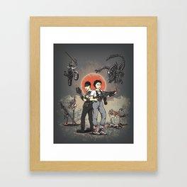 Pure Heroines Framed Art Print