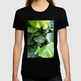Floral leaves photography #eclecticart T-shirt