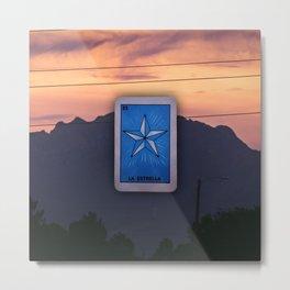 La Estrella de El Chuco Metal Print