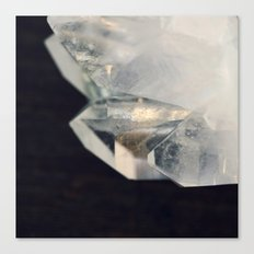 Crystal and Clear Canvas Print