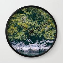 Thirds Wall Clock