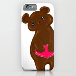 Chocolate Bear  iPhone Case