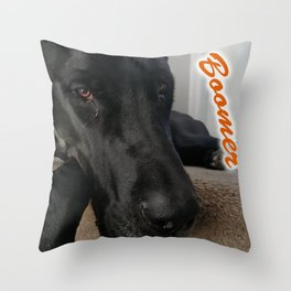 Boomer Throw Pillow