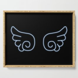 Chibi Angel Wings Serving Tray