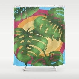 Tropical splendour Shower Curtain