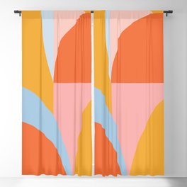 Shape and Color 54 Blackout Curtain