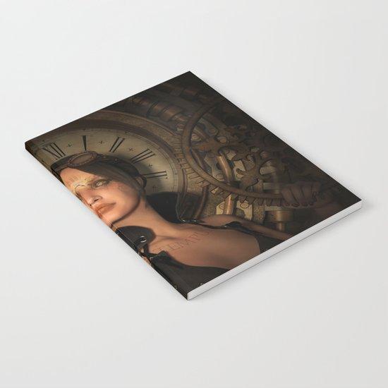 Steampunk Time Keeper Notebook