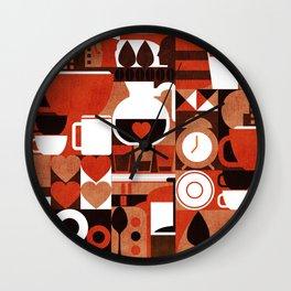 Coffee Story Wall Clock