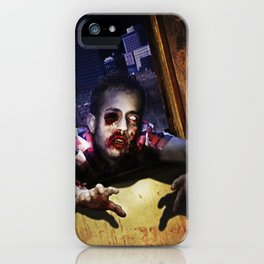 Z Attack! iPhone Case