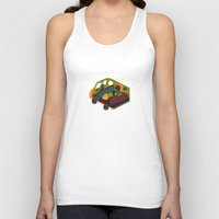 brown Tank Tops featuring Brown by Marce Farce