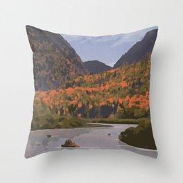 Parc National de la Mauricie Throw Pillow