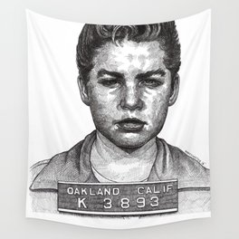 Little Jimmy Finkle Leader of the Gumball Gang Wall Tapestry