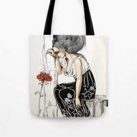 romantic Tote Bags featuring Romantic by ValD