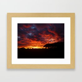 Sunset #2 Framed Art Print
