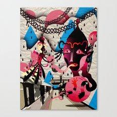 Ugly Mountain Detonation II Canvas Print
