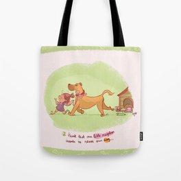 Little neighbor! Pets! Tote Bag