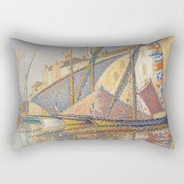 Tartans With Flags Rectangular Pillow