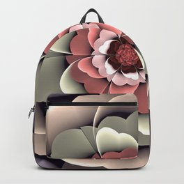 Fantasy spring flower Backpack