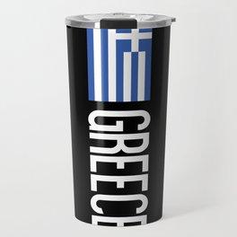 Greece: Greek Flag & Greece Travel Mug