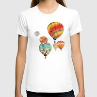 balloons T-shirts featuring Balloons by takmaj