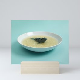 Sea lion soup Mini Art Print
