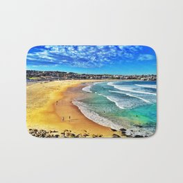 Bondi Beach, Sydney Australia Bath Mat