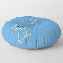 Dande Lion Floor Pillow