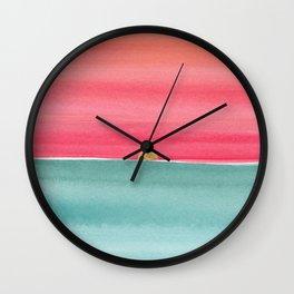 #83. ANNE MARIE - Sunset Wall Clock
