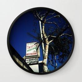 Taxco Mexican Restaurant, L.A. Wall Clock
