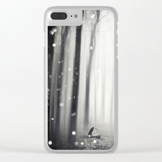 Winter Song Clear iPhone Case