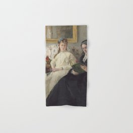 Berthe Morisot - The Mother and Sister of the Artist Hand & Bath Towel