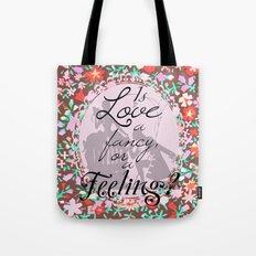 Sense & Sensibility Quote Tote Bag