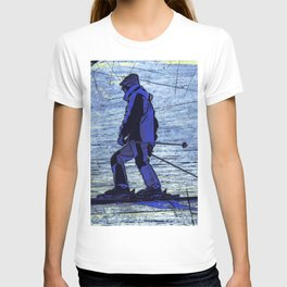 Sundown Skier T-shirt