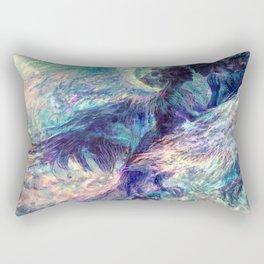 Sirin y Alkonost Rectangular Pillow