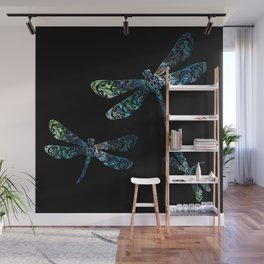 Dragonfly's Wall Mural