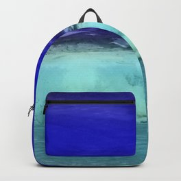 Midnight Waves Seascape Backpack
