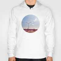 road Hoodies featuring Road by Gasoline Rainbow