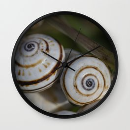 Snails Wall Clock