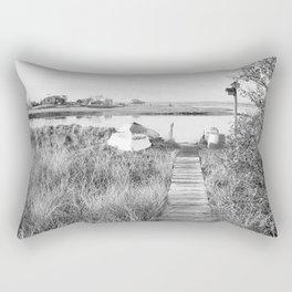 Walkway To The Basin Rectangular Pillow