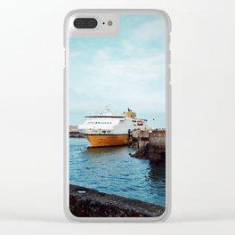 MV Côte d'Albâtre at Dieppe Clear iPhone Case